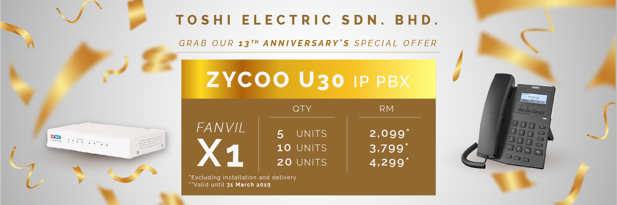toshi-combo-fanvil-x1-zycoo-u30